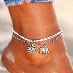 🐘 Beautiful Boho Inspired Ankle Bracelet 🐘